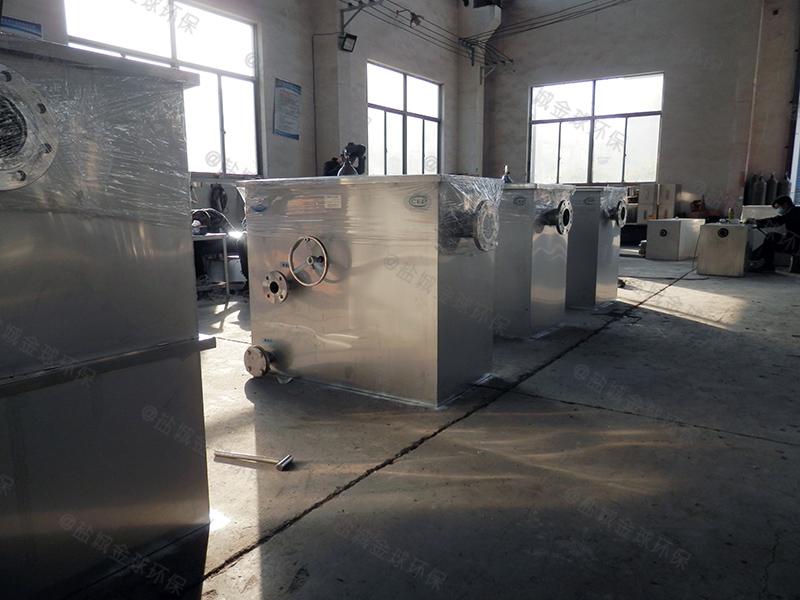河源食品厂隔油处理设备做多大