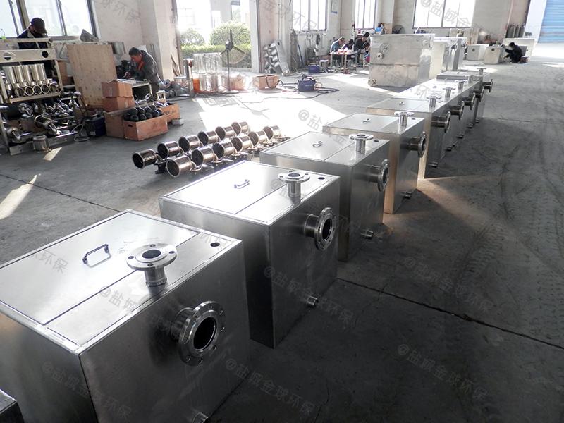 湛江酒店一体化隔油提升设备施工