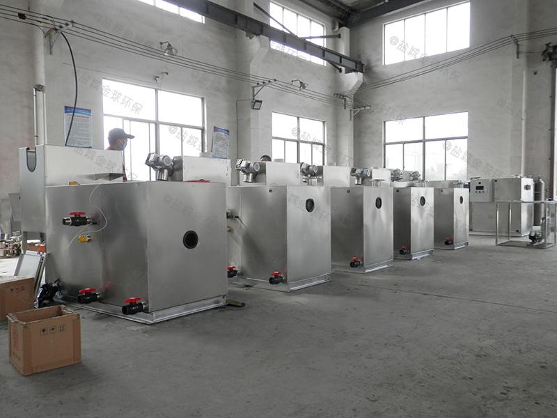 梅州火锅店专用油水分离池构造