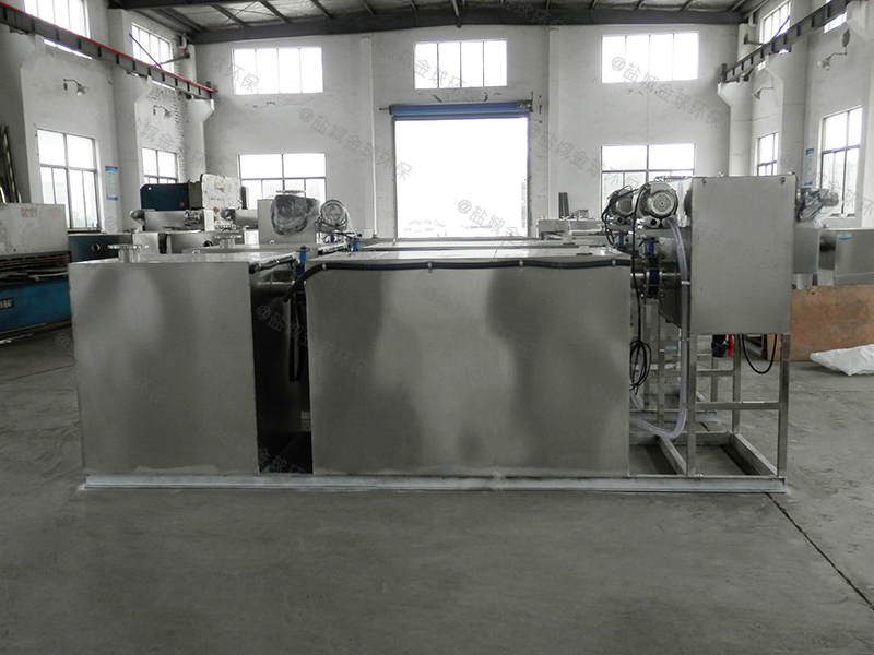 东莞三级除渣除泥隔油提升设备选型