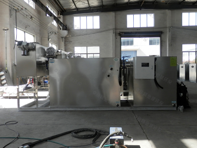 惠州四级过滤隔油池做法和尺寸图