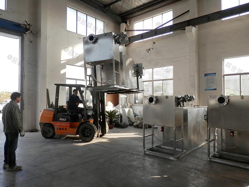 潮州食品厂油水分离器施工图纸