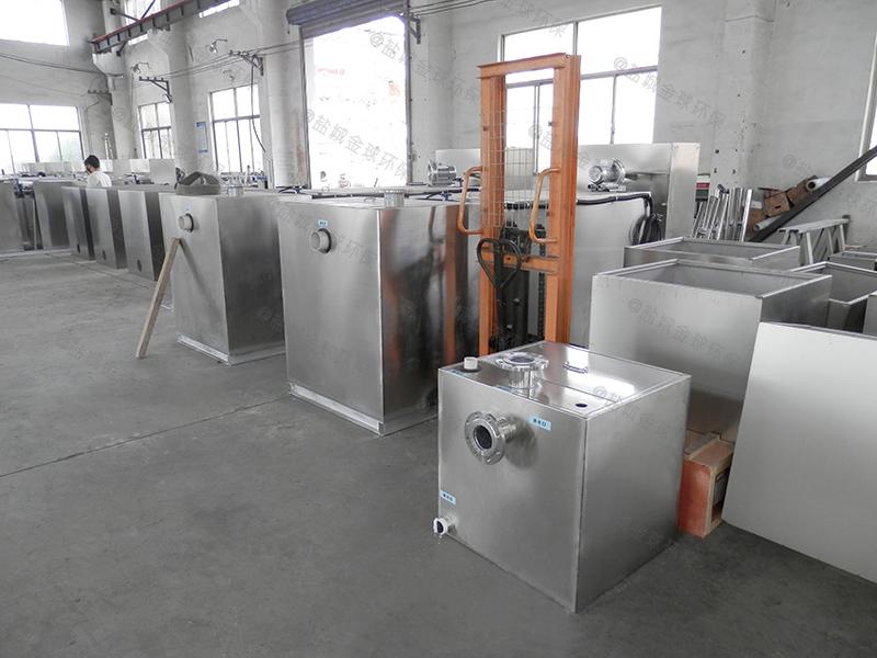 惠州别墅隔油设备设计