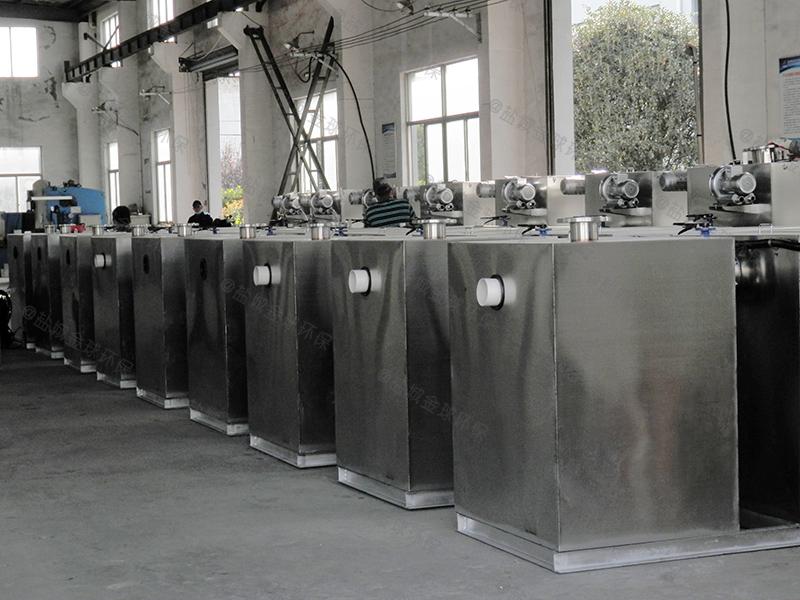 广州三级滤渣隔油隔渣设备建造