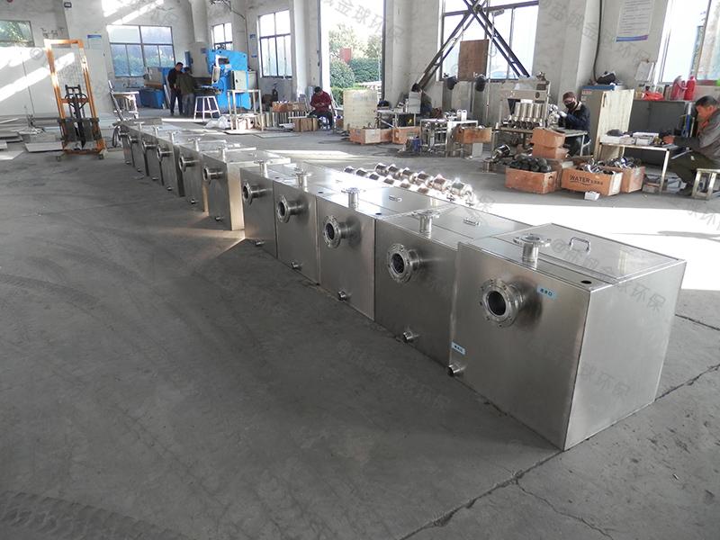 韶关厨房油水分离设备构造