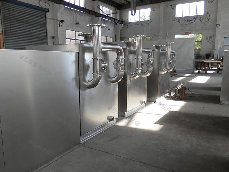 阳江智能隔油提升设备处理原理