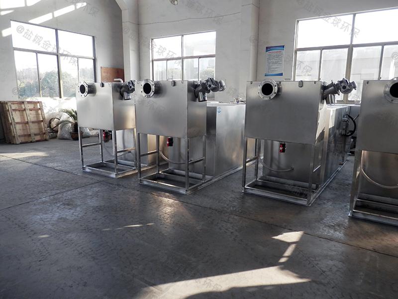 梅州火锅店专用油水分离机做多大
