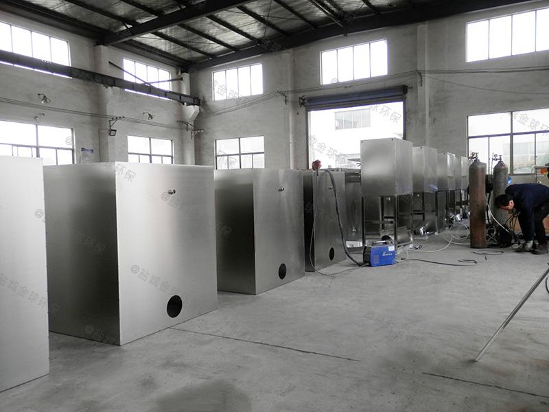 河源304不锈钢板隔油提升一体化设备构造做法