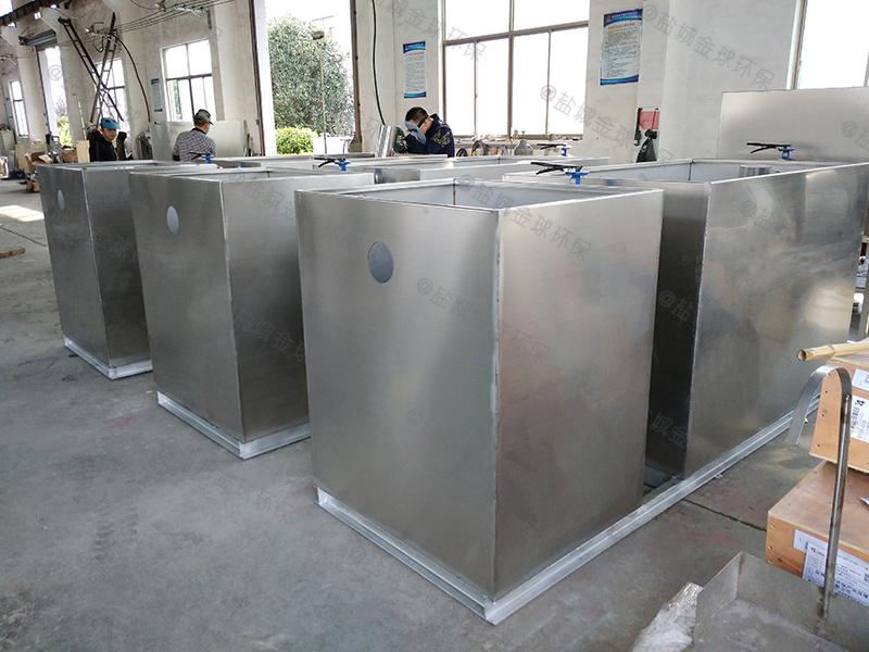深圳隔油除渣机油水分离器安装标准