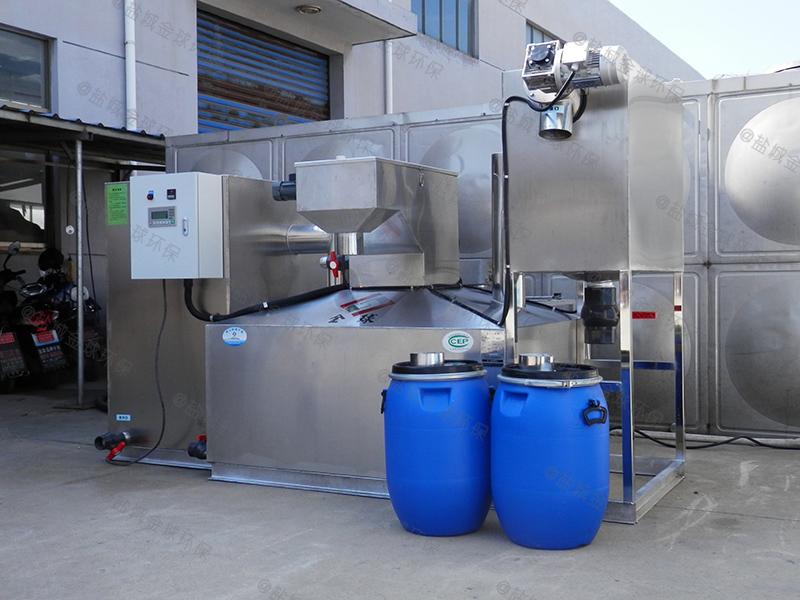 深圳四级过滤油水分离设备去除率