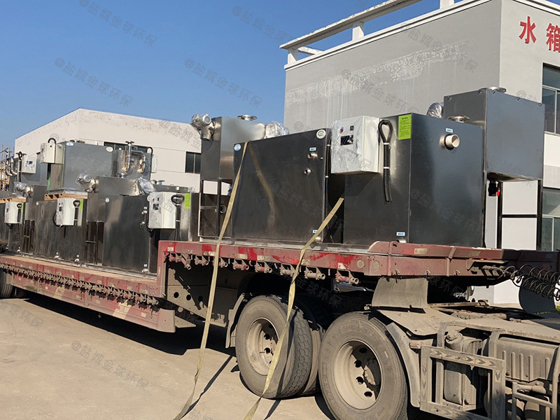 湛江污水排放隔油隔渣设备设计说明