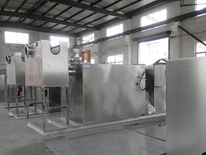 珠海饭馆隔油提升一体化设备标准要求