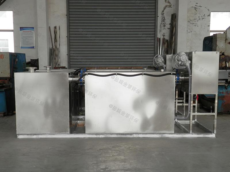 潮州201不锈钢板油水分离器施工图