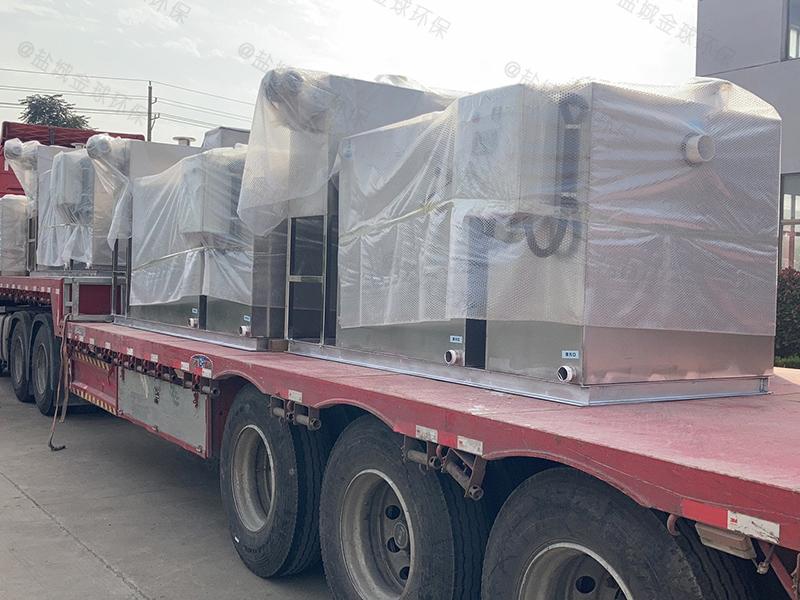 惠州不锈钢一体化隔油提升装置施工方案