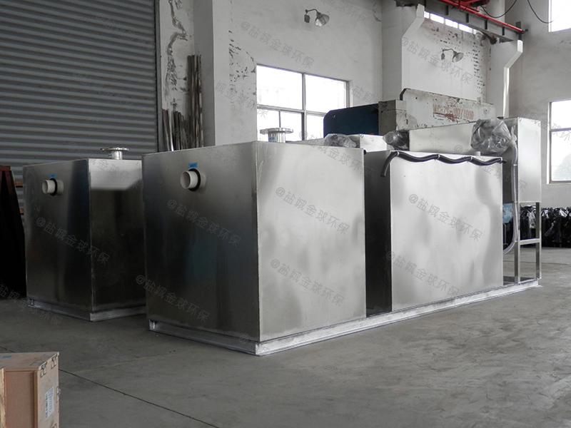中山餐饮隔油提升一体化设备施工
