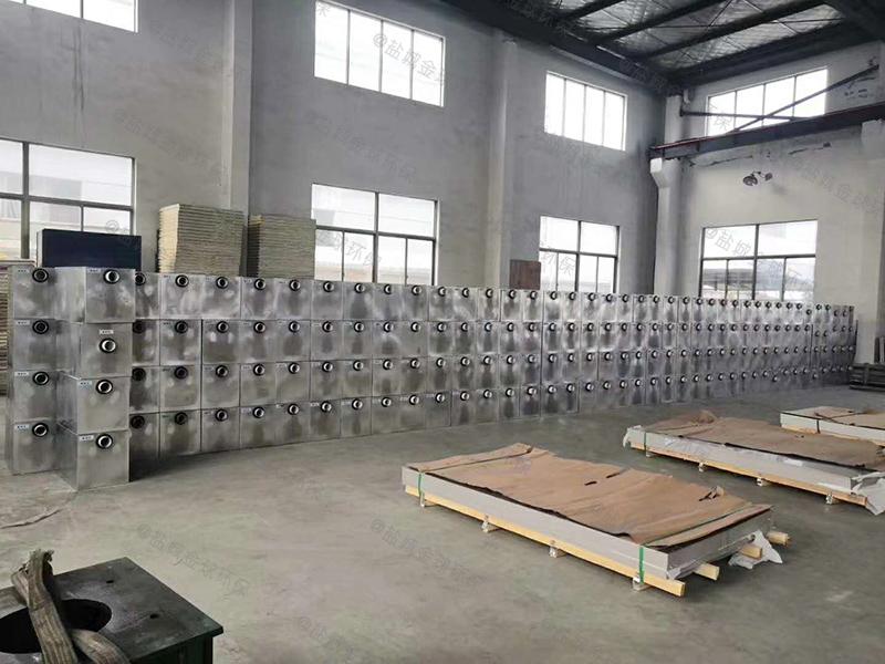 深圳餐饮隔油处理设备图纸
