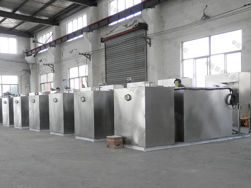 东莞污水排放隔油器做法和尺寸图
