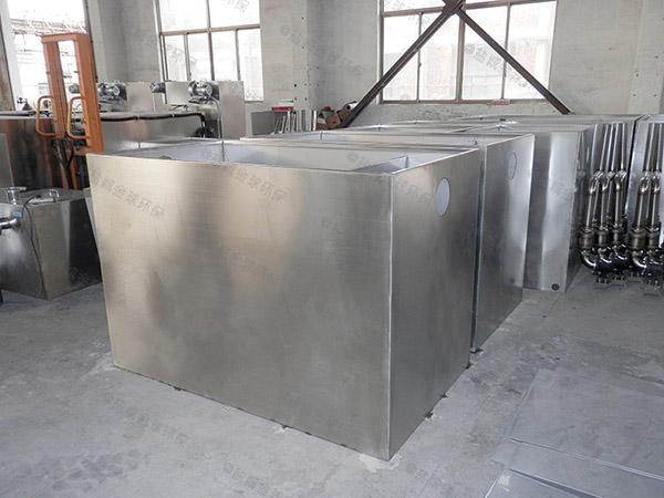 食堂用大型地下式智能型油水固相分离装置样本
