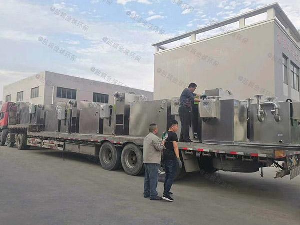 厨用中小型地面多功能隔油提升一体化设备批发价