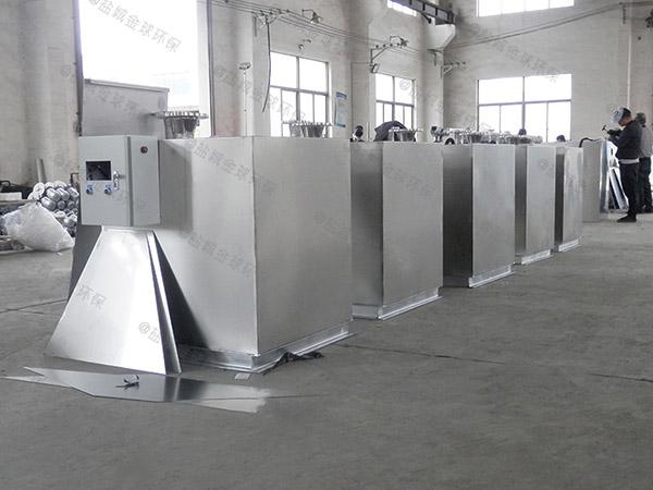 工程大地面式自动油水分离器和隔油池在哪体现