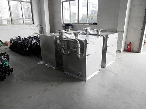 餐饮专用大移动式一体隔油提升设备行业
