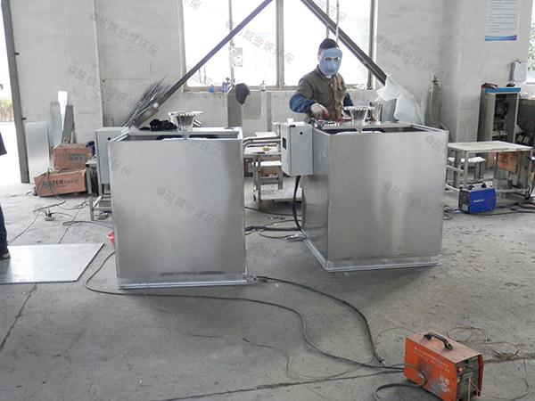 厨房地上式大型自动刮油隔油成套设备怎么计算