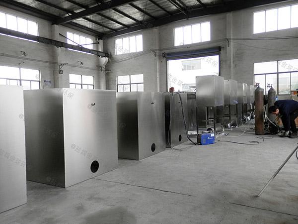 餐饮地下式中小型半自动排污油水分离器工程施工方案