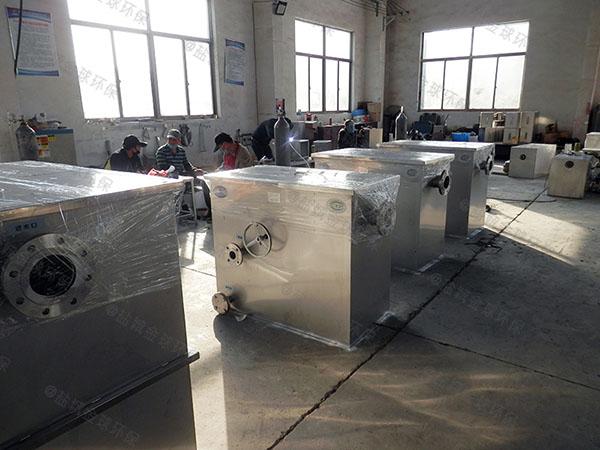 火锅中小型地面式自动油水分离机设备施工工艺