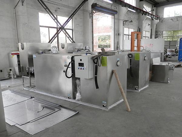 学校地下式全自动智能型油水分离器隔油池生产