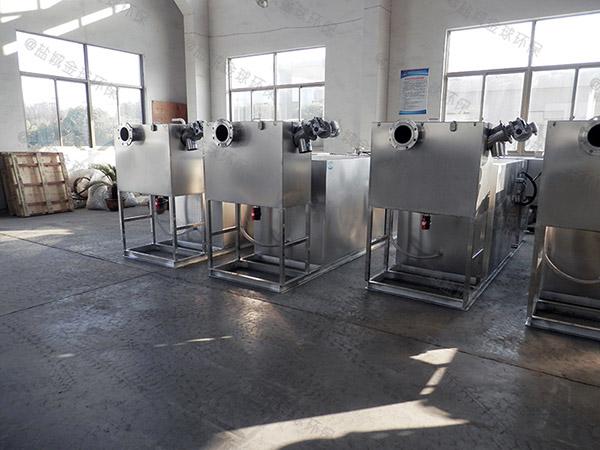 户外大型地上自动提升油水分离器一体化设计标准