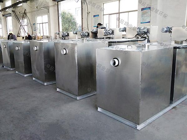 饭堂地下式中小型自动提升排水隔油器的结构