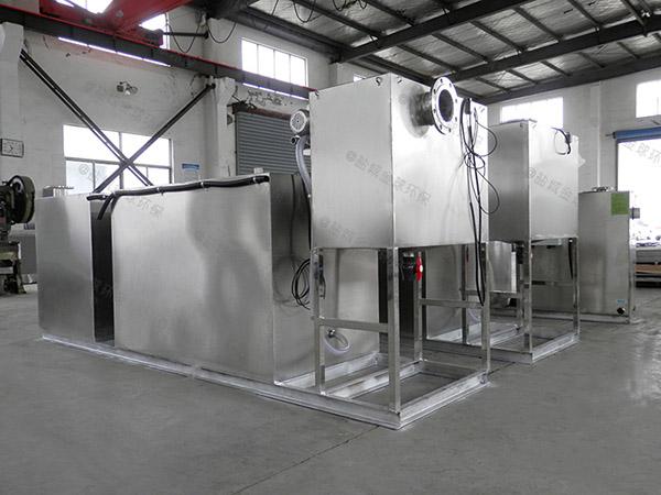 工厂食堂大全能型提升隔油一体化设备好卖吗