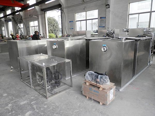 厨用室内全能型除油污水处理设备尺寸