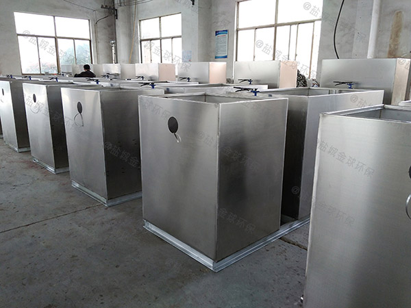 商用中小型地上自动刮油油水分离污水处理设备除油效率