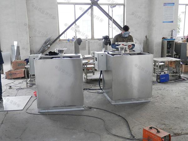 餐饮地下室移动式一体化隔油池提升设备设计方案