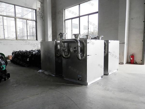 居民用大型地下式移动式一体化隔油池提升设备要多钱