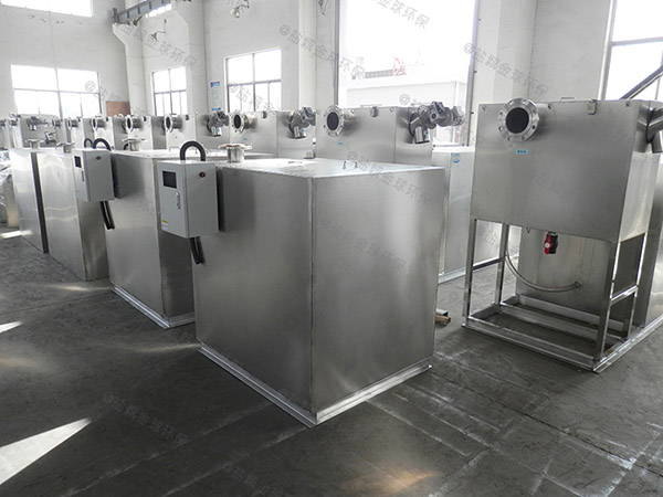 商业大型室内自动除渣油水分离器一体化调试方案
