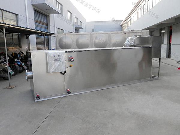 工厂食堂大地上智能型一体化隔油提升装置简图