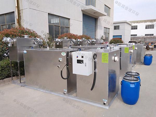 饭馆大型半自动一体化隔油装置产业