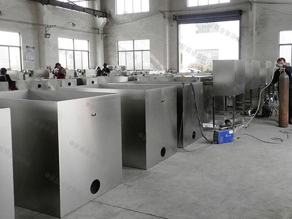 餐饮行业地面式大型多功能油水分离机设备批发