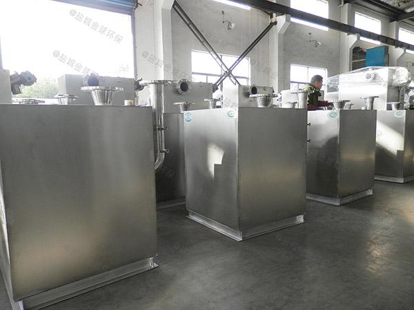 商场餐饮地面式大无动力隔油装置直供厂家