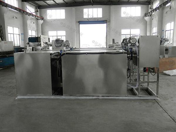 餐饮环保大地上式移动式污水处理油水分离设备操作规程
