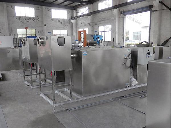 厨余大型地下室全能型油水过滤器生产厂家
