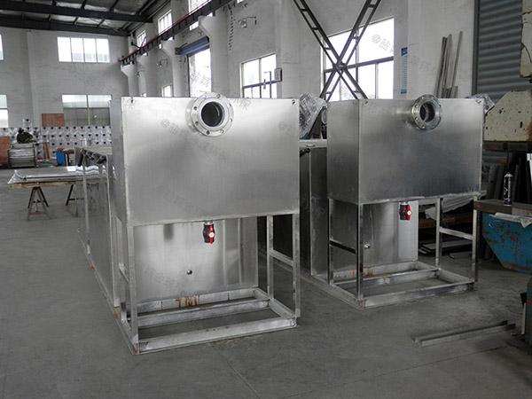 厨房用中小型埋地自动化成品隔油处理器定制