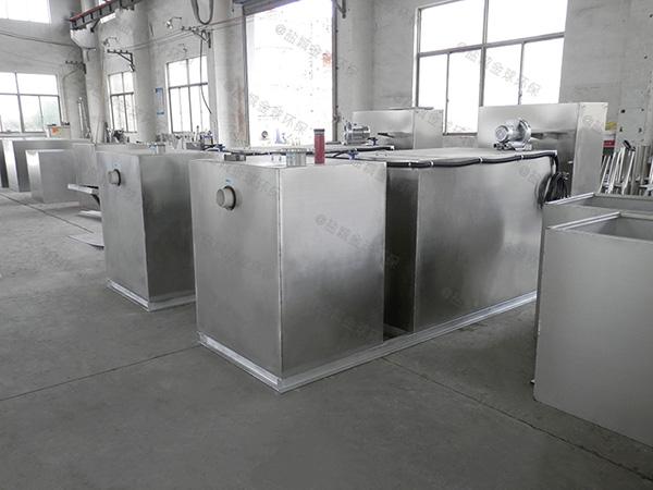 餐饮专用大型自动排水一体式隔油设备厂商