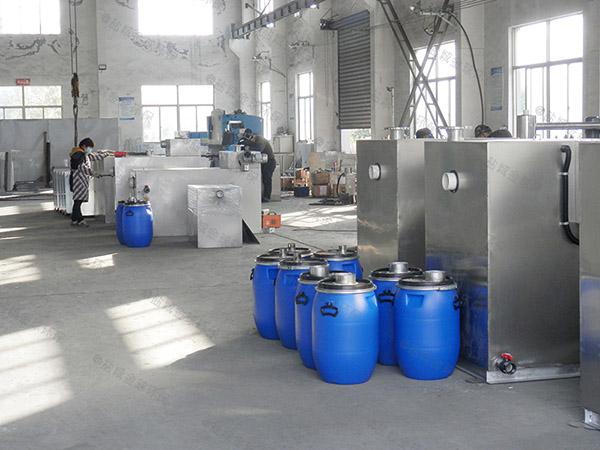 厨下型中小型地面式多功能隔油设备介绍