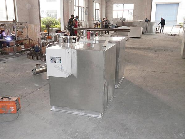 食堂用地埋式中小型智能化隔油分离器的环保要求