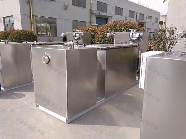 厨房用大简易隔油一体化设备系统