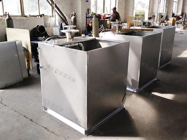 餐用中小型地面简单油水分离污水处理设备如何选型