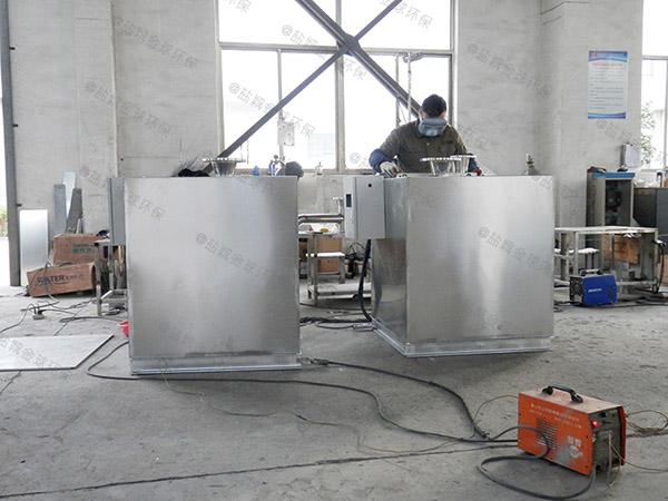 工厂食堂大埋地移动油水分离与处理设备价格型号